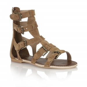 RLP913 LOS ANGELES BROWN SUEDE