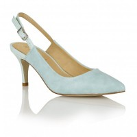 Ravel Brownsville Sling-Back Court Shoes Turquoise