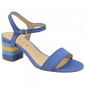 celmont colour block blue sandals