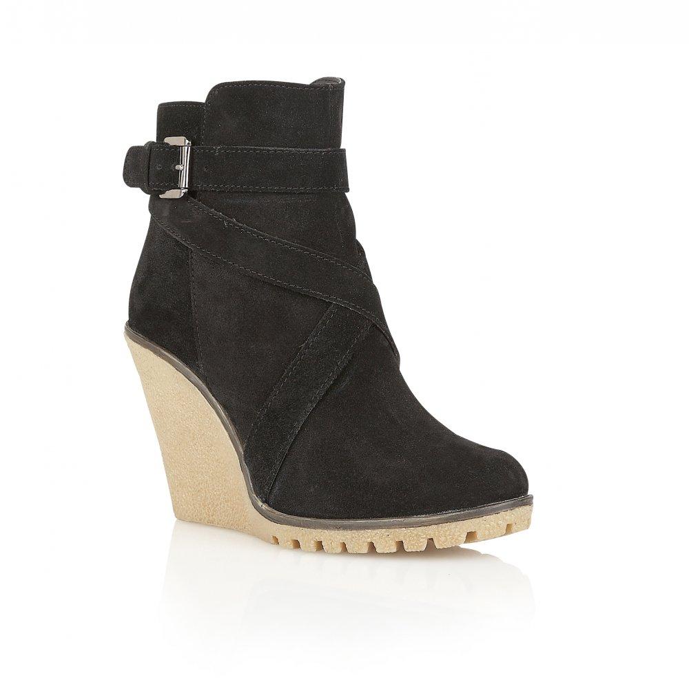 buy ravel ladies alaska wedge ankle boots online in black