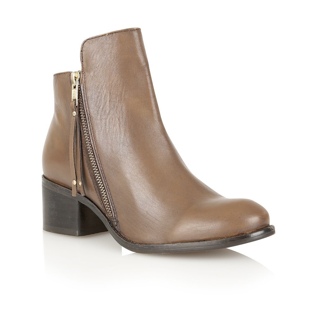 Buy Ravel Ladies Kansas Ankle Boots Online In Tan Leather