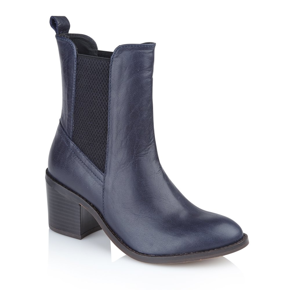 Navyboot schoudertas : Buy ravel ladies miami ankle boots in navy leather