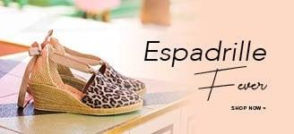SS19 Lower Promo Banner - Espadrille Fever