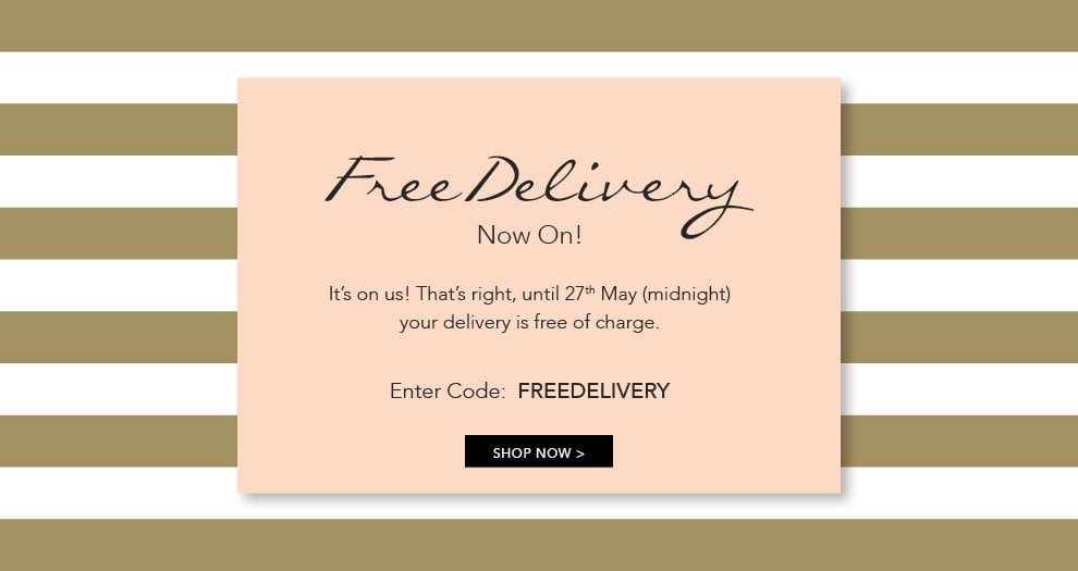FREE DELIVERY - MAY 2019