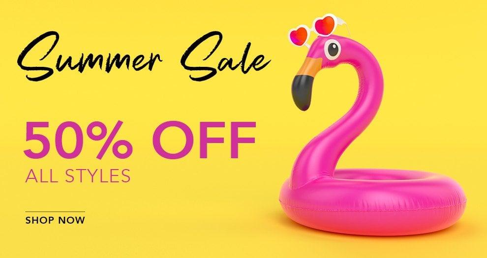 Summer Sale 2020 - 50% Off