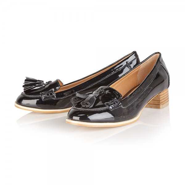 d90fb886bc9 Buy Ravel ladies Magnolia loafers online in black patent