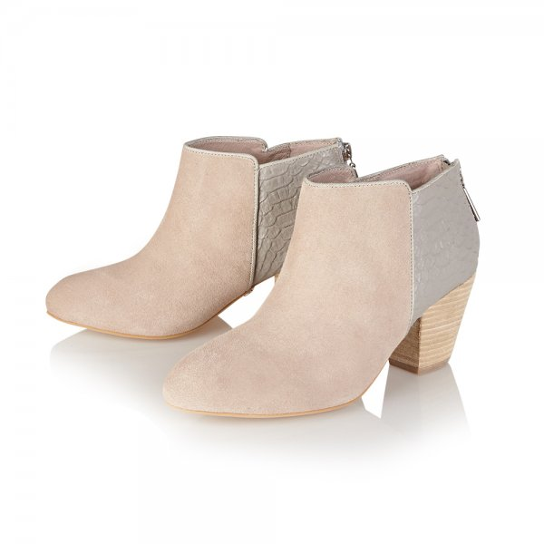 Buy Ravel ladies Windflower boots online in grey suede