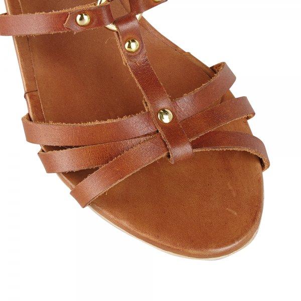 33034dfcf3f4 Buy Ravel ladies Dahlia low wedge sandals online tan leather