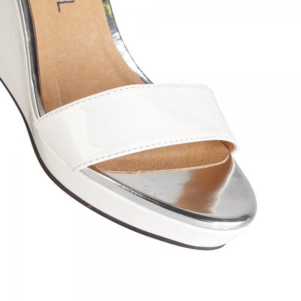 buy ravel amaryllis wedge sandals in white