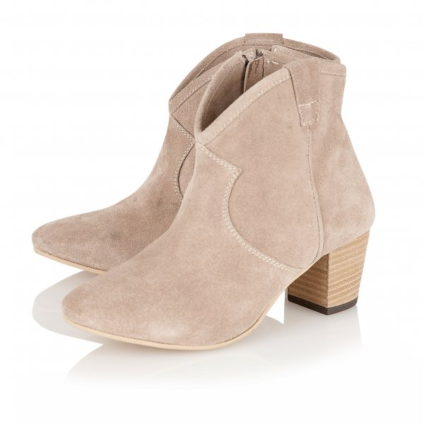 Buy Ravel 65 ladies alicia ankle boots online in beige suede