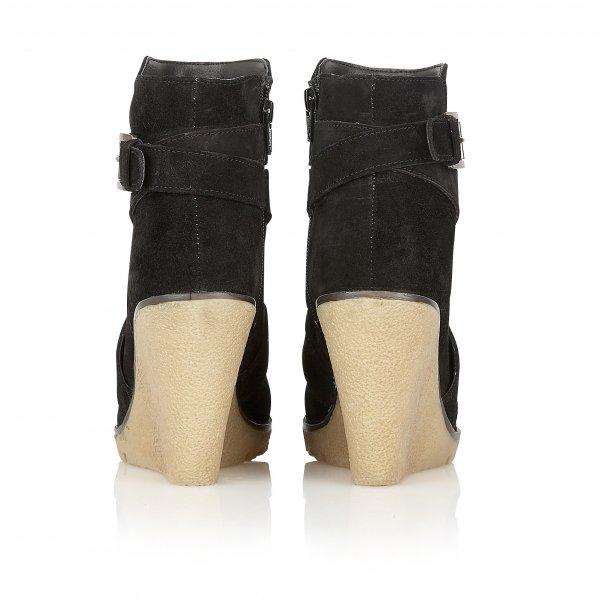 f2c8d7785b262 Buy Ravel ladies Alaska wedge ankle boots online in black suede