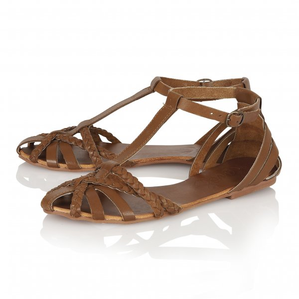 e81e9a13d03a Buy Ravel ladies Arizona Flat Sandals in tan leather