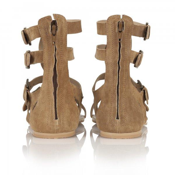 9cf0be11abe Buy Ravel ladies Los Angeles Gladiator sandals in brown suede