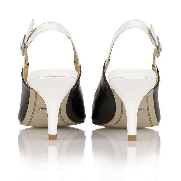 buy ravel brownsville court shoes in black white
