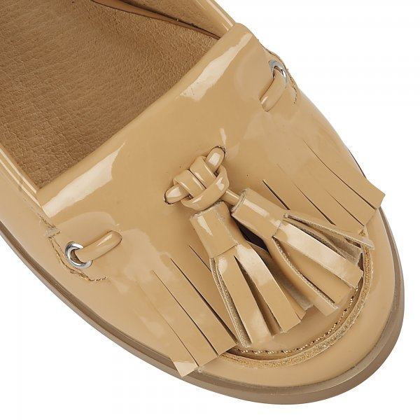 d243488f1d0 ... Ravel Montgomery Low Heel Loafers Tan Patent. ‹