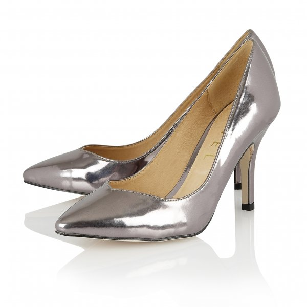 Buy Ravel Ladies Little Rock Court Shoes Online In Pewter