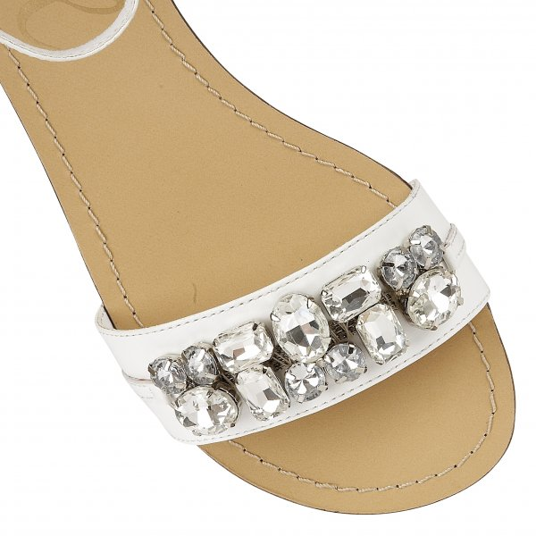 d2bc1b7a7ed37 Buy Ravel ladies Tulsa flat sandals online in white leather