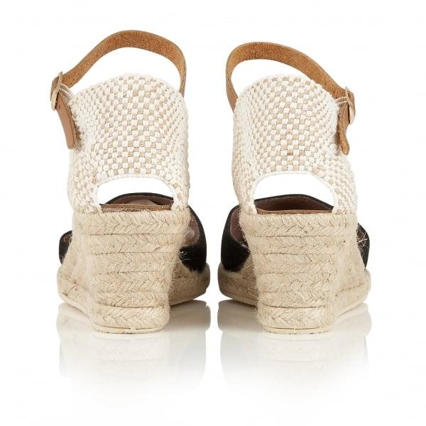 a3ad31ddd0f5 Buy Ravel ladies  Etna espadrille wedge sandals online in black