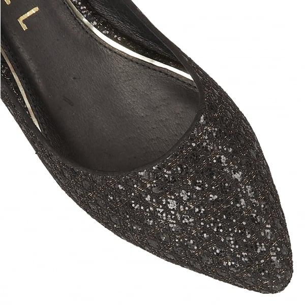 8c3ad760b74b Buy Ravel ladies Carson flat pumps online in black glitter