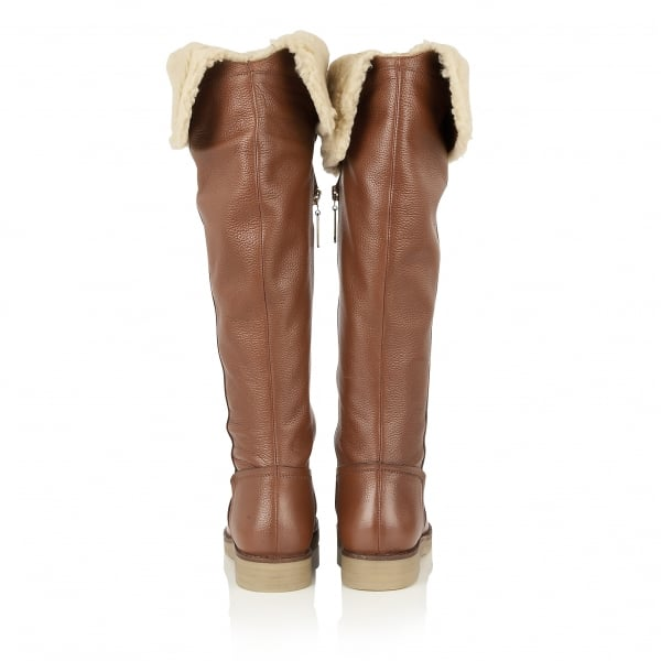Buy Ravel ladies Briscoe over the knee boots online in tan leather