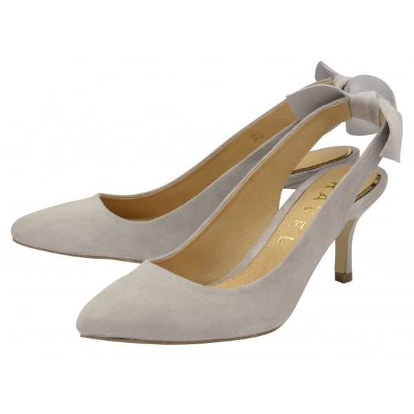 buy ravel kerr court shoes in grey suede