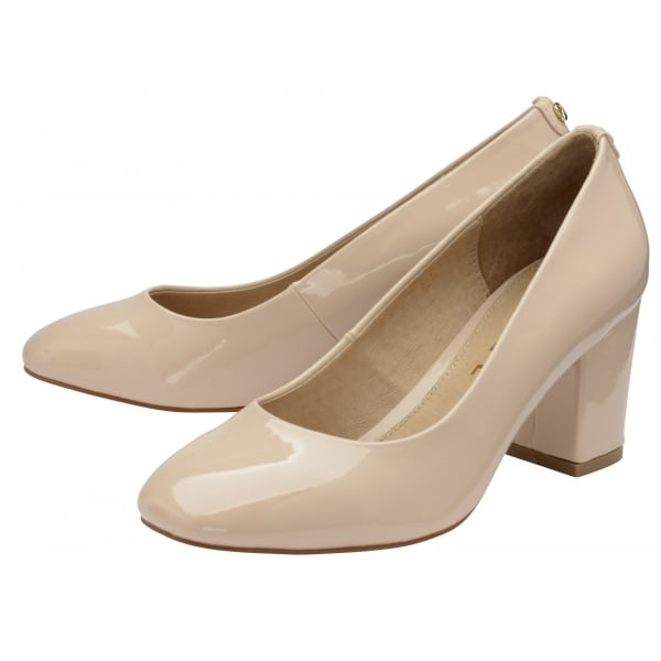 Nude Wedge Ladies Shoes