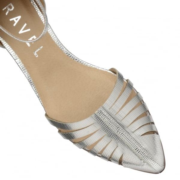 c466460451ea Ravel Medina Silver Flat Pumps