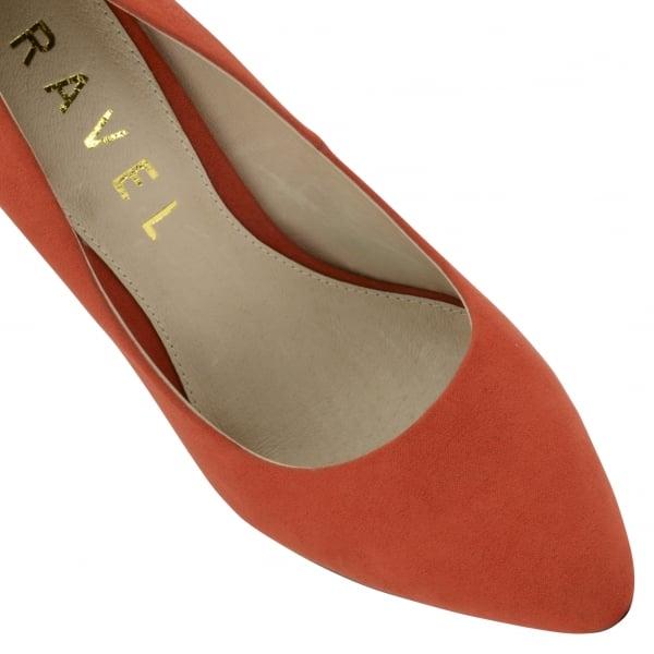 cdd7e35cb1e4 Buy Ravel ladies Hazleton court shoes online in Red