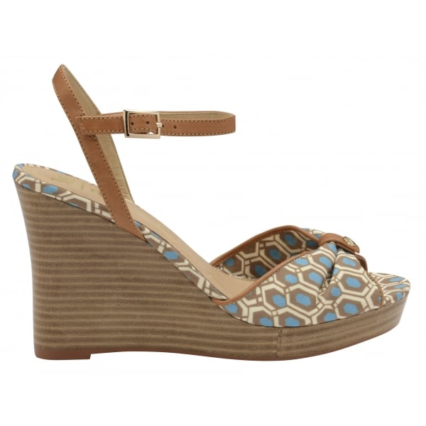 77f0dd72353 Buy V A ladies  Beatrice Wedge Sandals online in Aqua