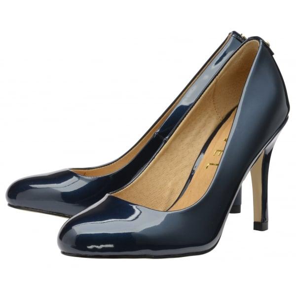Buy Ravel ladies Clanton court shoes online in navy patent