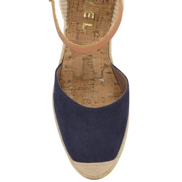 182b1ae2e1 Buy Ravel ladies' Etna espadrille wedge sandals online in navy