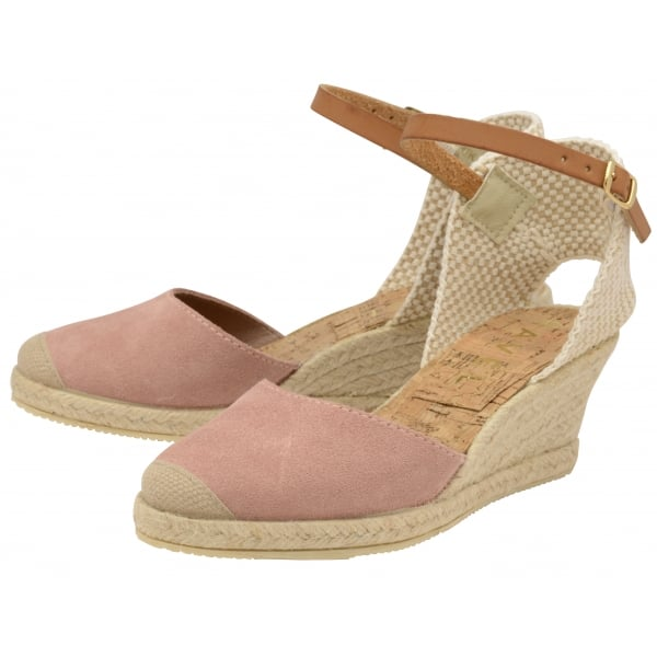 a013ac8be2e Buy Ravel ladies  Etna espadrille wedge sandals online in blush