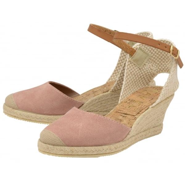 412fb2fe3c1 Buy Ravel ladies  Etna espadrille wedge sandals online in blush