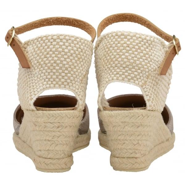 0ab7ac6df66 Buy Ravel ladies  Etna espadrille wedge sandals online in silver