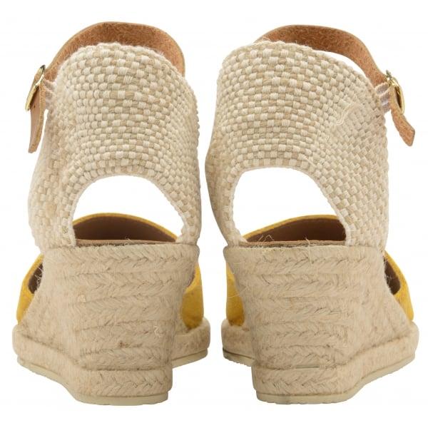 f5c222bcdb Buy Ravel ladies' Etna espadrille wedge sandals online in mustard