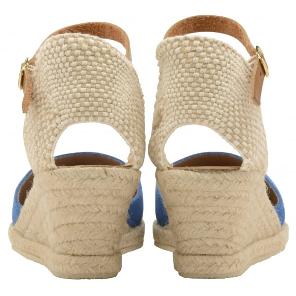ae5e636a63 Buy Ravel ladies' Etna espadrille wedge sandals online in blue