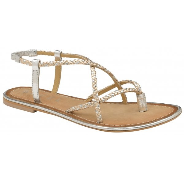 5c178d252 Buy Ravel ladies  flat Holmes sandals online in silver.