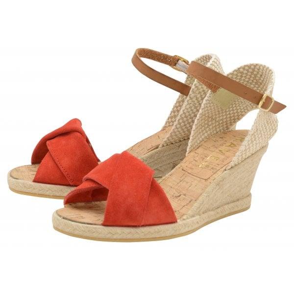 c95028c996e Buy Ravel ladies  Palmer wedge sandals in red online.