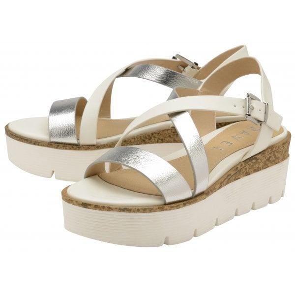610e6999e7ba Buy Ravel ladies Layton flat casual shoe in silver online.