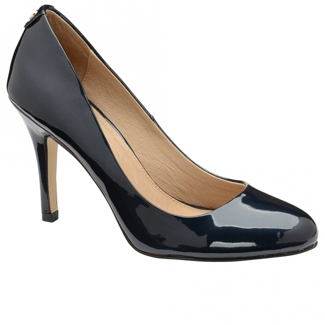 Black Clanton Patent Court Shoes | Ravel