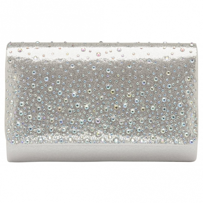 Silver Myers Clutch Bag | Ravel
