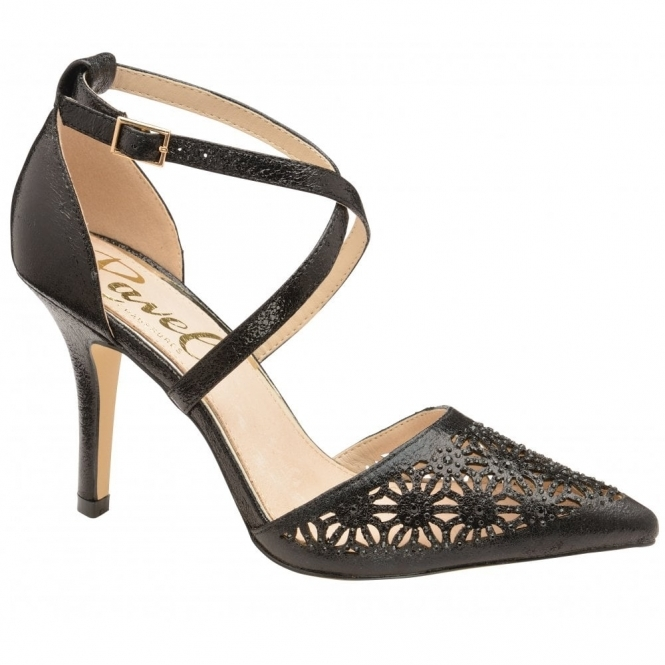 Black Volusia Heeled Pumps | Ravel