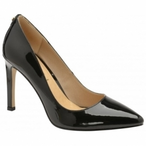 Black Edson Patent Court Shoes | Ravel