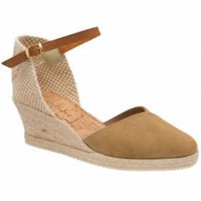 Mushroom Springwood Espadrille Wedge Sandals | Ravel