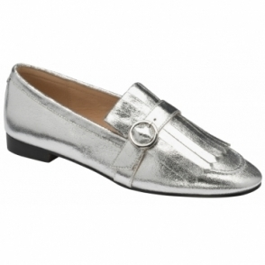 Silver Estrada Loafers | Ravel