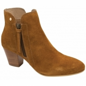 Tan Tulli Suede Ankle Boots | Ravel