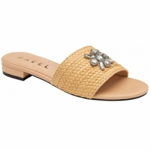 Natural Esme Slip-On Sandals | Ravel