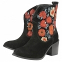 Black Maxwell Suede Ankle Boots | Ravel