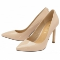 Nude Edson Patent Court Shoes | Ravel