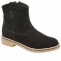 Black Grayling Suede Ankle Boots | Ravel